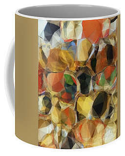 Crazy Quilt Coffee Mug by Kathie Chicoine