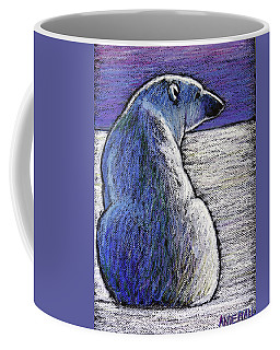 Polar Bear Backside Coffee Mug