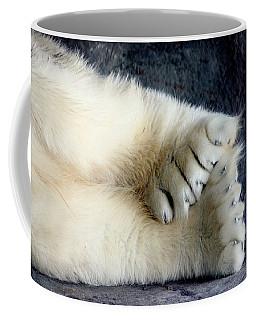 Polar Bear Paws Coffee Mug