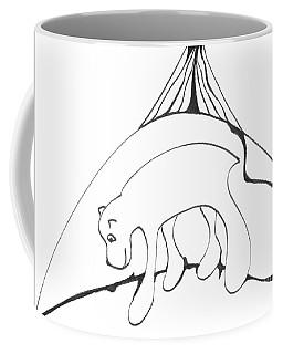 Polar Bear Symbol Coffee Mug