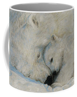 Polar Snuggle Coffee Mug by Meagan  Visser