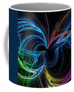 Coffee Mug featuring the photograph Polarized Inversion by Mark Blauhoefer