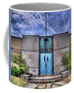 Police Station Coffee Mug by Tammy Wetzel