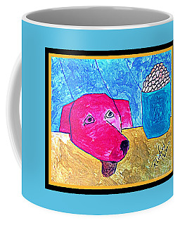 Politidogs Copyright Please Do Your Best To Save Me From Harvey Flooding Coffee Mug
