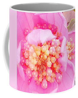 Polka Dot Floral Coffee Mug