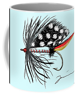 Polka Dot Pike Coffee Mug