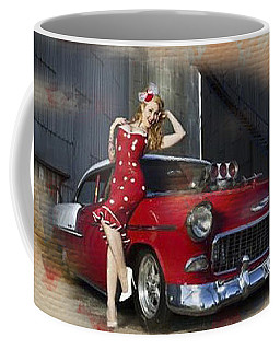 Bel-air Polka Dots Coffee Mug