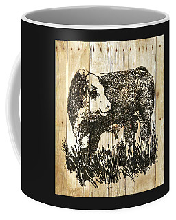 Polled Hereford Bull 11 Coffee Mug