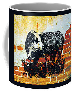Polled Hereford Bull  Coffee Mug