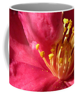 Coffee Mug featuring the photograph Pollen Pregnant 2 by Robert Knight