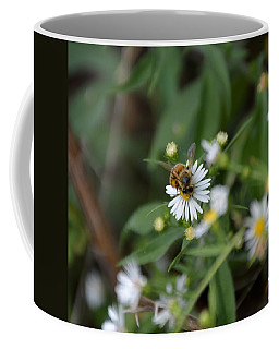Coffee Mug featuring the photograph Pollinatin' by W And F Kreations