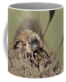 Pollinating Bee Coffee Mug