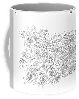 Polymer Fiber Spinning Coffee Mug