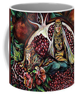 Pomegranate Coffee Mug
