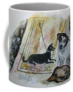 Pompeii Cane Coffee Mug