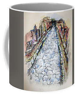 Pompeii Road Coffee Mug