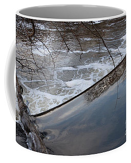 Pompton Spillway From Above Coffee Mug