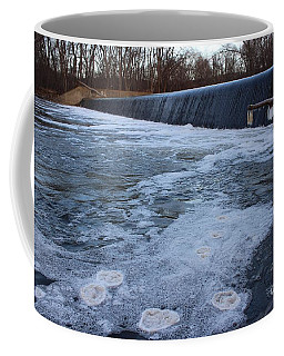 Pompton Spillway In Winter 2 Coffee Mug