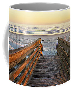 Ponce De Leon Inlet Beach Path Coffee Mug