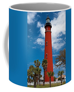 Ponce Inlet Lighthouse Coffee Mug by Christopher Holmes