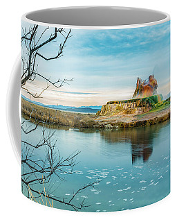 Pond And Geyser Coffee Mug