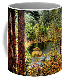 Pond At Golden Or. Coffee Mug