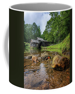 Pond At Mabry Mill Coffee Mug