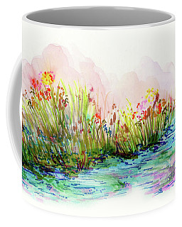 Sunrise Pond Coffee Mug