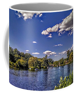 Pond At Verona Park Coffee Mug