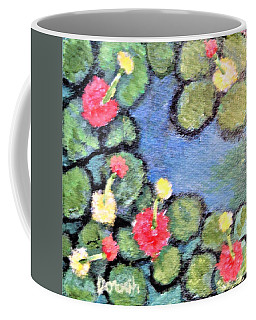 Pond Flowers Coffee Mug