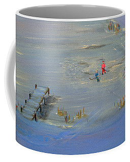 Pond Hockey Coffee Mug