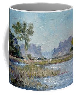 Pond In The Woods 1 Coffee Mug