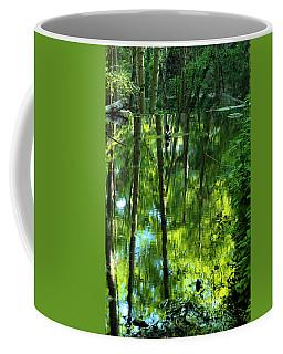 Pond On Gabrielino Trail Coffee Mug