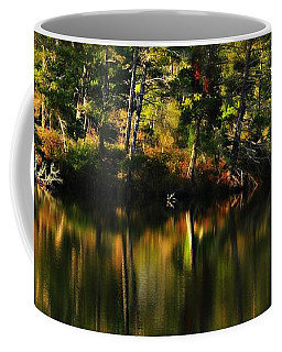 Pond Reflections Coffee Mug by Katie Wing Vigil