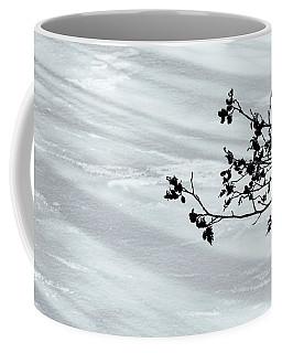 Coffee Mug featuring the photograph Pond Shadows by Tom Singleton