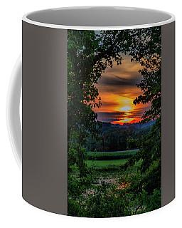 Pond Sunset  Coffee Mug