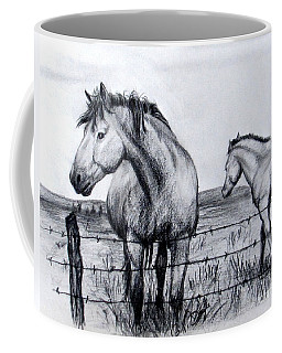 Ponder Texas Horses Coffee Mug