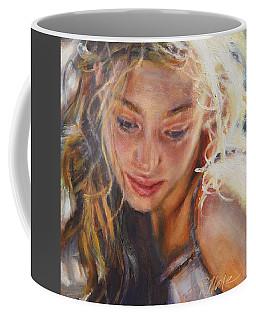 Ponder Coffee Mug by Tracy Male