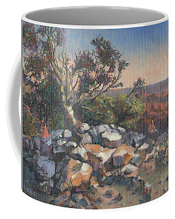 Pondering By The Canyon Coffee Mug