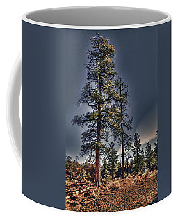 Ponderosa Pines At The Bonito Lava Flow Coffee Mug