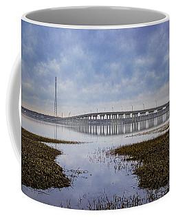 Ponquogue Bridge Hampton Bays Ny Coffee Mug