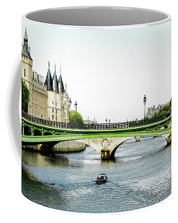 Pont Au Change Over The Seine River In Paris Coffee Mug