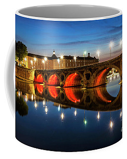 Coffee Mug featuring the photograph Pont Neuf In Toulouse by Elena Elisseeva