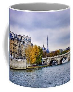 Pont Neuf View Of Eiffel Tower Coffee Mug