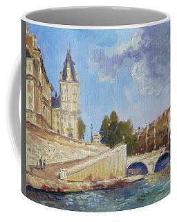 Pont Saint Michel, Paris Coffee Mug