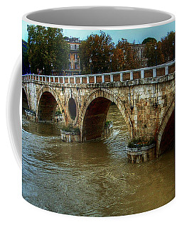 Ponte Sisto Bridge Rome Coffee Mug