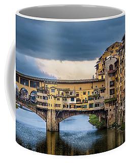 Ponte Vecchio E Gabbiani Coffee Mug