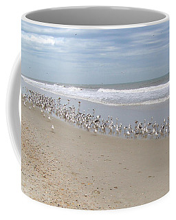Ponte Vedra Birds Coffee Mug by Carol  Bradley