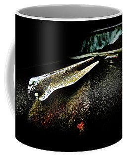 Coffee Mug featuring the photograph Pontiac Emblem by Glenda Wright