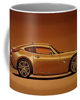 Pontiac Solstice Coupe 2009 Painting Coffee Mug